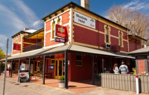 Woodside Hotel, Small business in South Australia