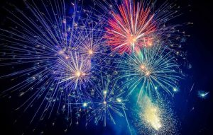 Woodside Christmas Pageant Fireworks Display