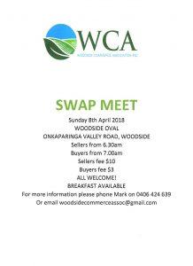Woodside Commerce Association Swap Meet