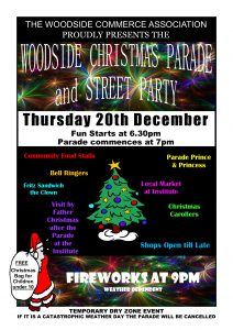 Woodside Christmas Pageant 2018 Poster